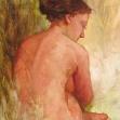 Nude-sitting